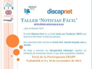 Taller 'Noticias Fácil' noticiasfacil.es