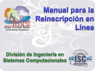 Manual para la Reinscripci�n en L�nea