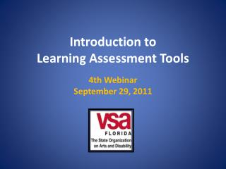 Introduction to Learning Assessment Tools