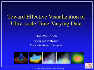 Toward Effective Visualization of Ultra-scale Time-Varying Data