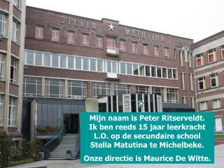 Onze school is vooral bekend als hotelschool (TSO/BSO)