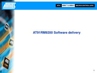 AT91RM9200 Software delivery