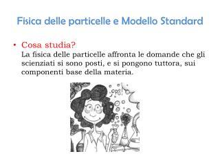 Fisica delle particelle e Modello Standard