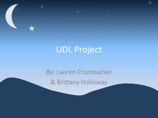 UDL Project