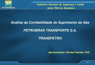 Seminário Nacional de Segurança e Saúde  Setor Elétrico Brasileiro