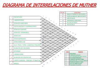 DIAGRAMA DE INTERRELACIONES DE MUTHER