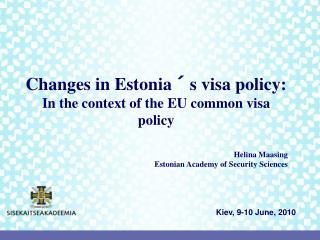 Kiev, 9-10 June, 2010