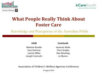 What People Really Think About Foster Care