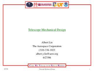 Telescope Mechanical Design