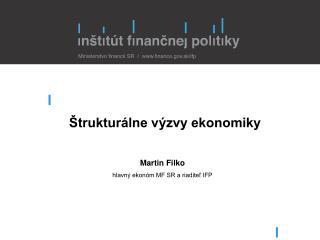 Štrukturálne výzvy ekonomiky