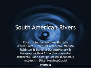 South American Rivers