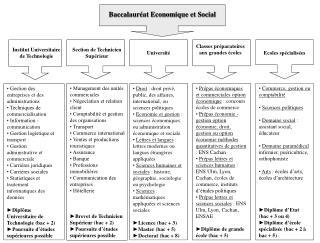 Baccalauréat Economique et Social
