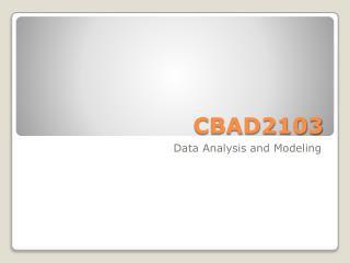 CBAD2103