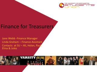 Finance for Treasurers