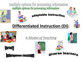 Differentiated Instruction (DI) :