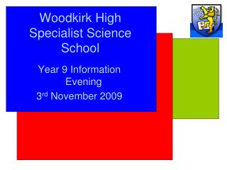 Woodkirk High Specialist Science School