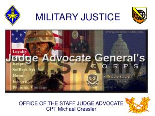 MILITARY JUSTICE