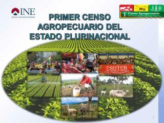 CENSOS AGROPECUARIOS 1950 y 1984