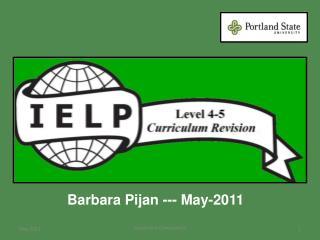 Barbara Pijan --- May-2011