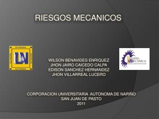 CORPORACION UNIVERSITARIA  AUTONOMA DE NARIÑO SAN JUAN DE PASTO 2011