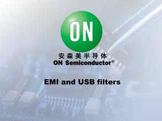EMI and USB filters