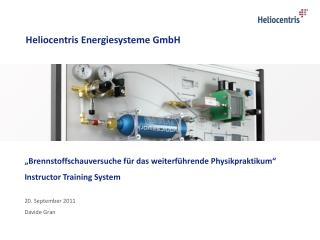 Heliocentris Energiesysteme GmbH