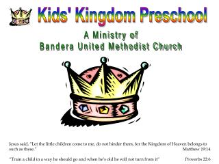Kids' Kingdom Preschool