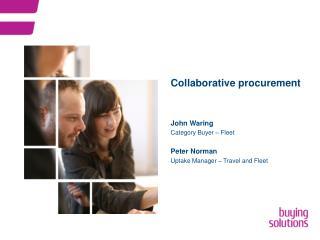 Collaborative procurement
