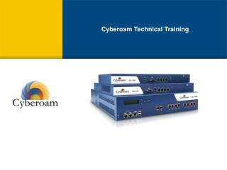 Cyberoam Technical Training