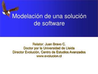 Modelación de una solución de software