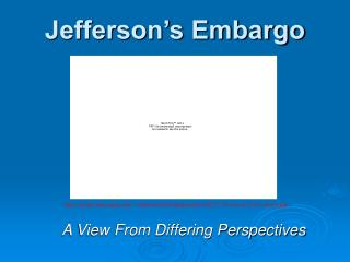 Jefferson's Embargo