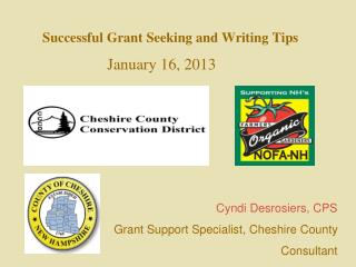 Successful Grant Seeking and Writing Tips