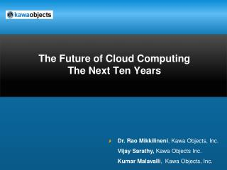 The Future of Cloud Computing  The Next Ten Years