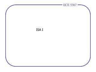 ISA I