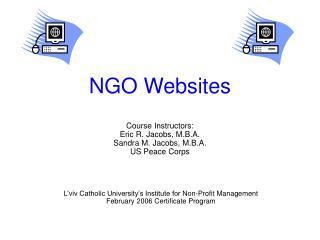 NGO Websites