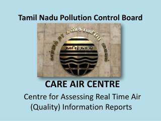 Tamil Nadu Pollution Control Board