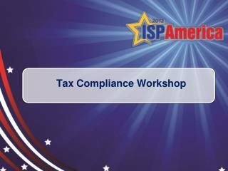 Tax Compliance Workshop