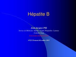 H�patite B