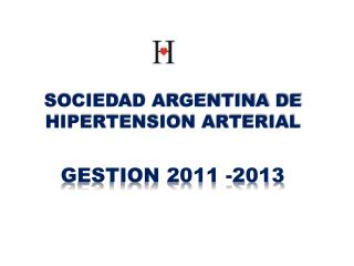 GESTION 2011 -2013