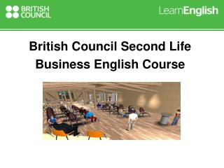 Second Life Business English