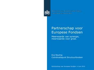 Partnerschap voor Europese Fondsen