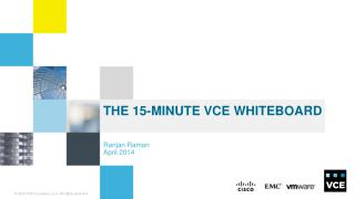 THE 15-MINute VCE WHITEBOARD