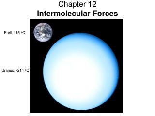 Chapter 12 Intermolecular Forces