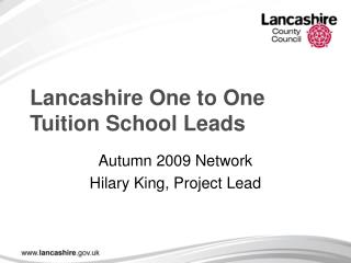 Lancashire One to One Tuition School Leads