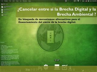 En búsqueda de mecanismos alternativos para el financiamiento del cierre de la brecha digital.