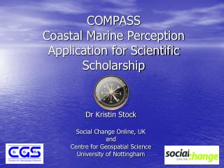 COMPASS Coastal Marine Perception Application for Scientific Scholarship
