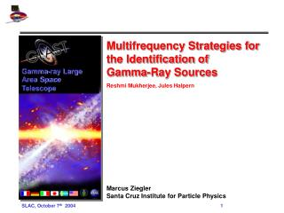 Multifrequency Strategies for the Identification of  Gamma-Ray Sources