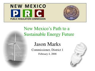 New Mexico's Path to a Sustainable Energy Future