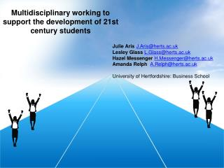 Multidisciplinary working to support the development of 21st century students