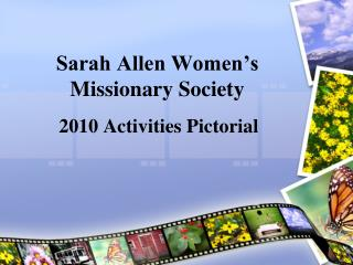 Sarah Allen Women�s Missionary Society